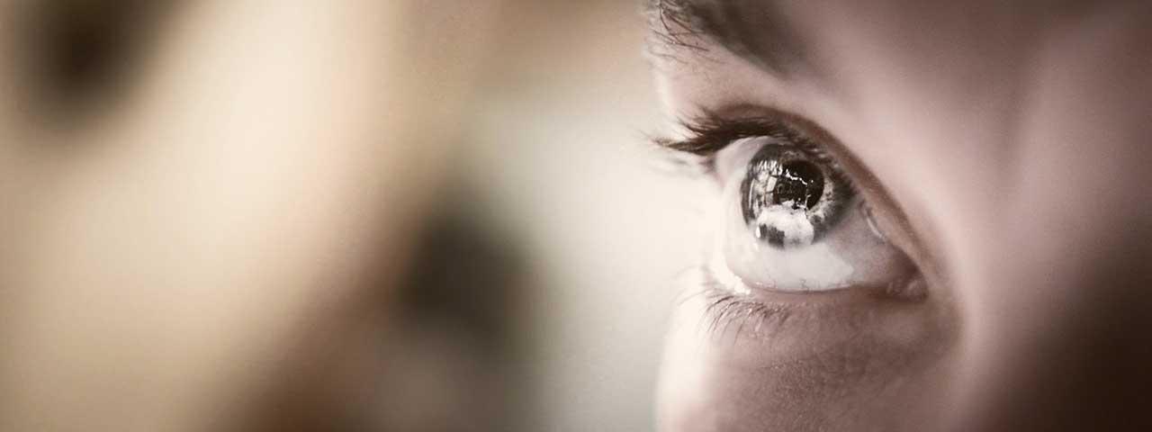 Eye Illustrating Retinitis Pigmentosa