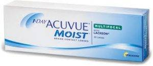 JJ 1 day acuvue moist multifocal - Eye Exam - Olathe, KS