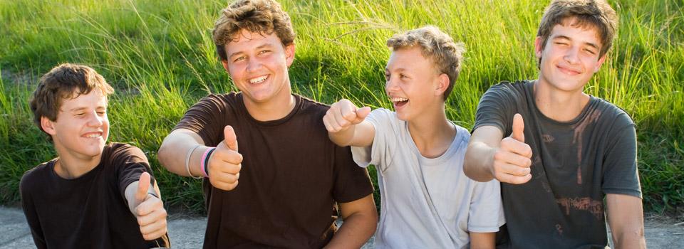 Happy teenagers in Ogden, UT