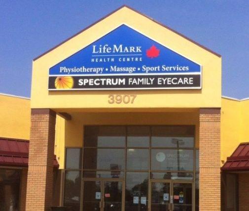 Our Spectrum Family EyeCare office in Saskaton, Saskatchewan