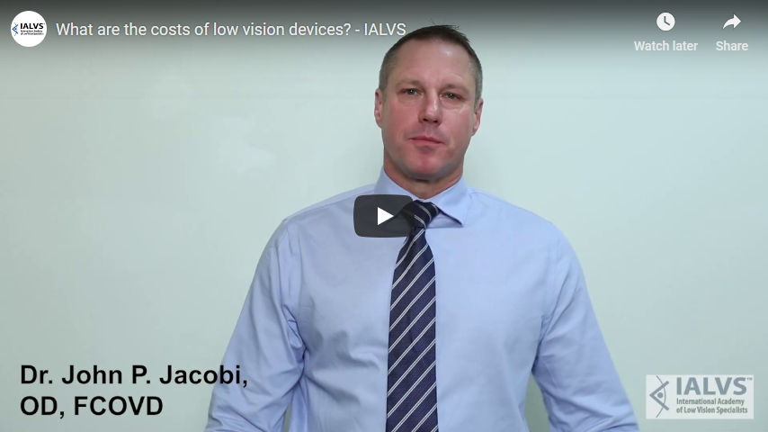Screenshot 2019 03 08 What are the costs of low vision devices   IALVS   YouTube