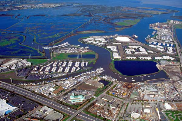 Redwood_City_port_aerial_view