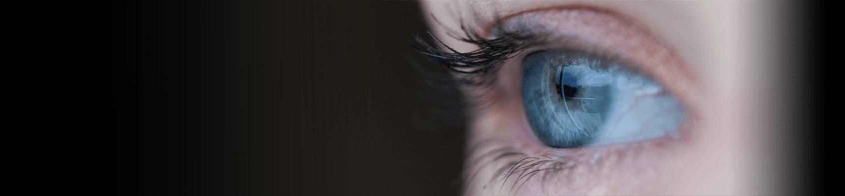 dry eye close up