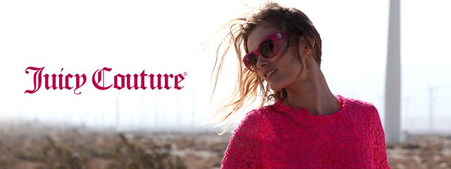 Eye doctor, woman wearing Juicy Couture sunglasses in St. Pauls and Fayetteville, NC