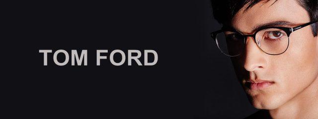 Optometrist, man wearing Tom Ford eyeglasses