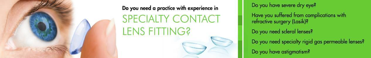 Specialty Contact Lens Fitting