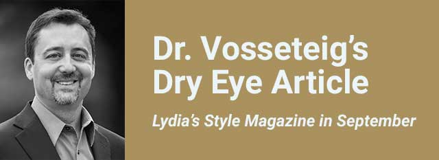Dr. Vosseteig's Dry Eye Article