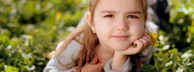 Eye care, girl suffering from myopia in Fort Collins, CO