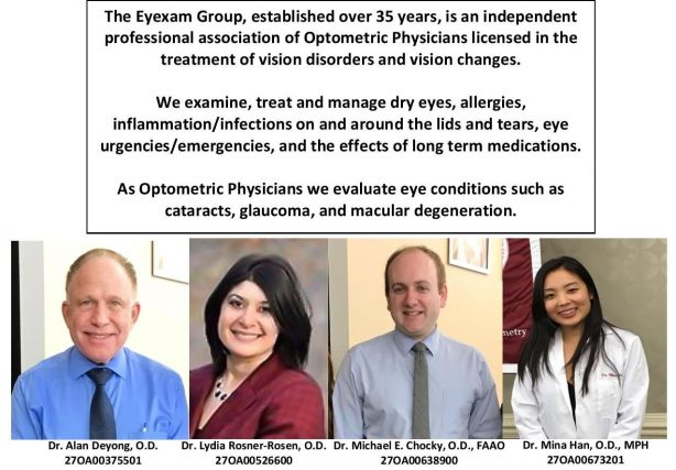 Optometrist pictures and descriptions - Eye Care - Paramus & Fairlawn, NJ