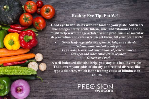 Healthy Eye Tip 1 eat well