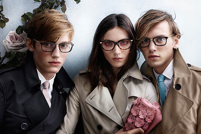 Young Men and Woman wearing designer eyeglasses in Richmond Hill
