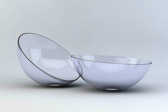 Pair of Contact Lenses in Richmond Hill