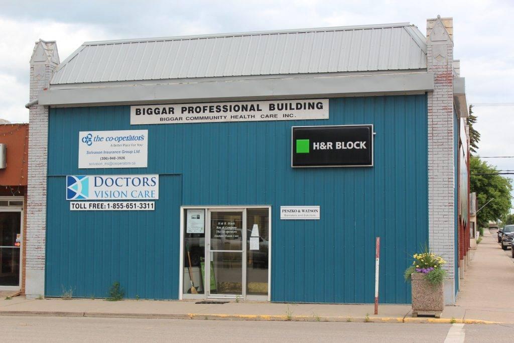 Biggar front of building IMG 8777
