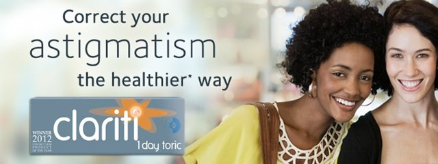 Toric Contact Lenses for Astigmatism in Parker, CO