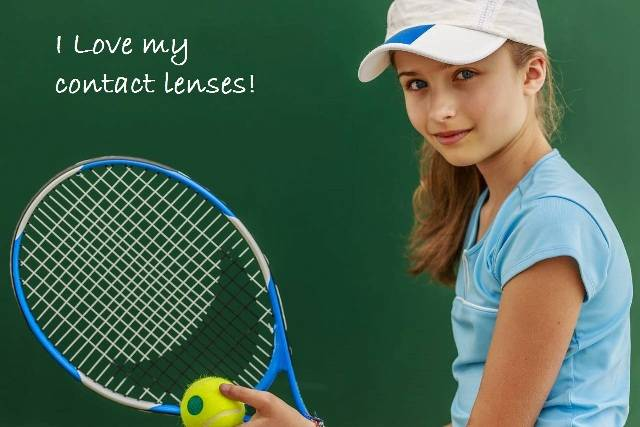 Premier Medical Eye Group Mobile Alabama multifocal contacts tennis girl 1