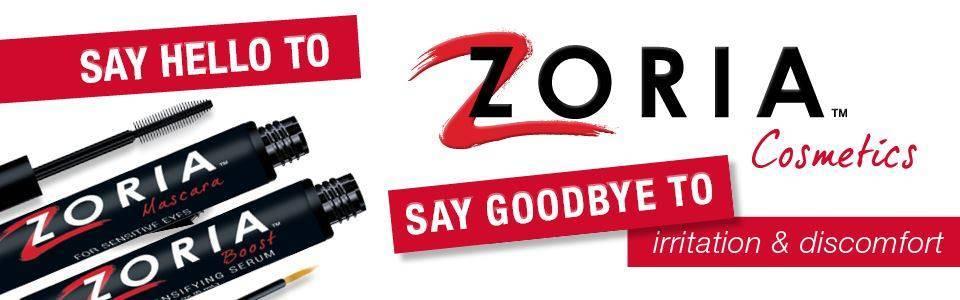 Zopria Cosmetics banner