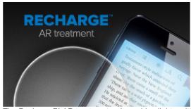 Recharge lens treatment