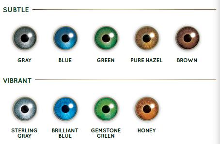 air optix colors studio: subtle and vibrant color contact lenses