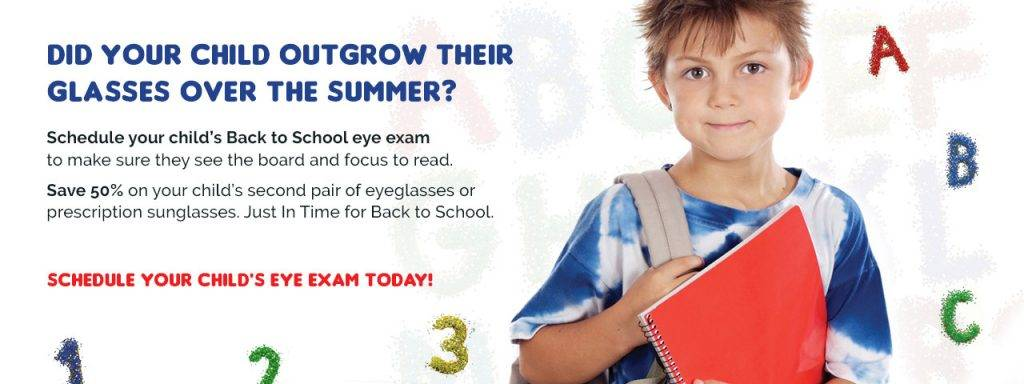 eye exam for kids in las vegas