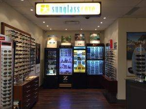 Our updated Sunglass Cove!