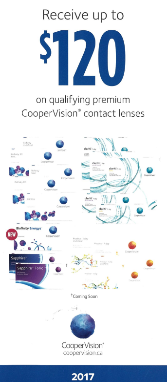 CooperVision ad