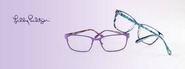 Eye doctor, pairs of Lilly Pulitzer eyeglasses in Hartsdale, NY