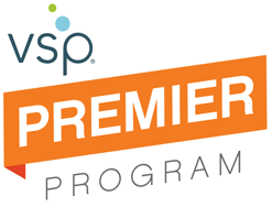 logo for vsp premier  for eye care in San Jose, CA