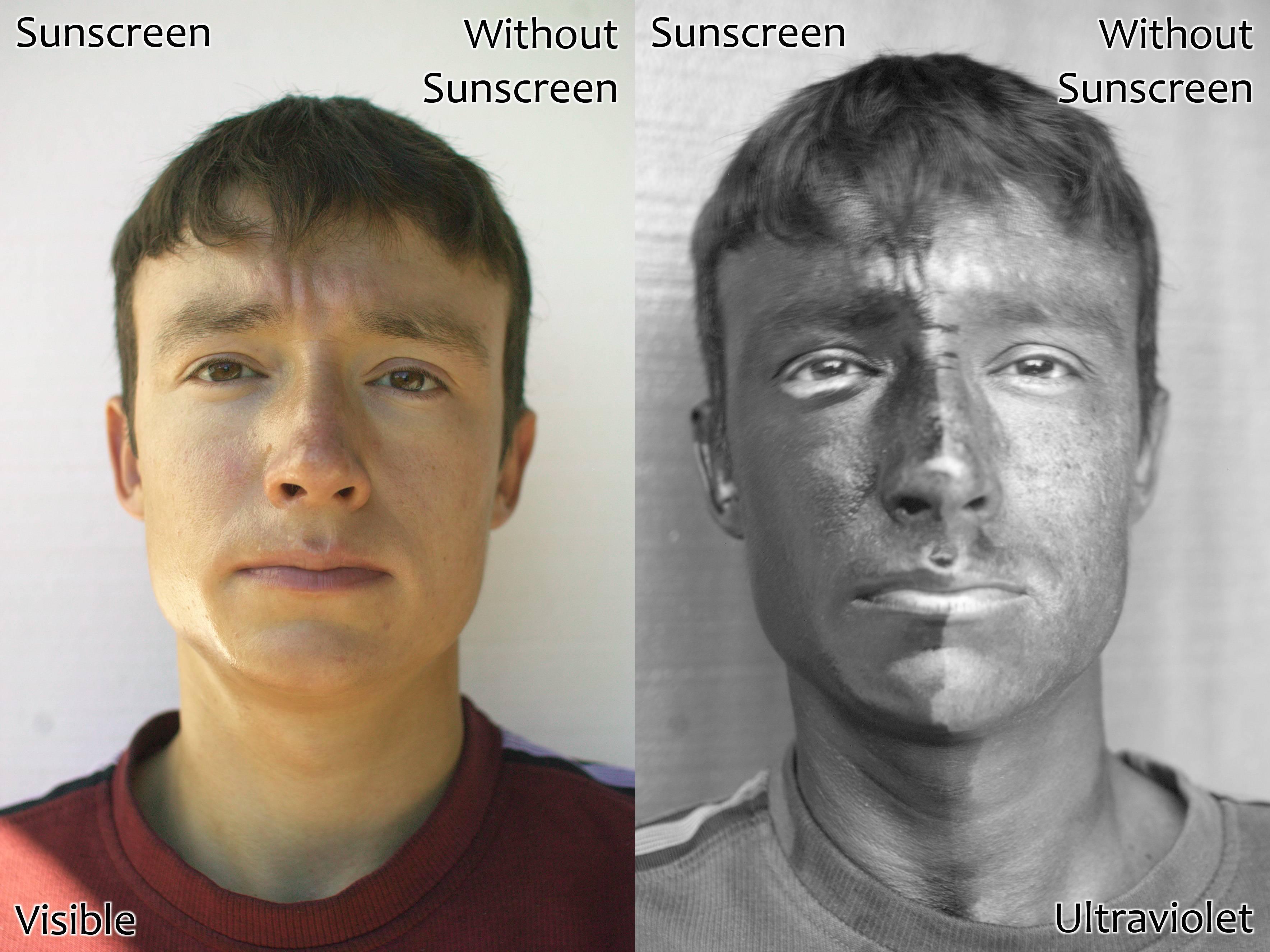 UV and Vis Sunscreen