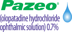 Logo for Pazeo Dry Eye Drops