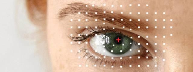 Eye doctor, woman eye with red eye in  Mentor, Ohio