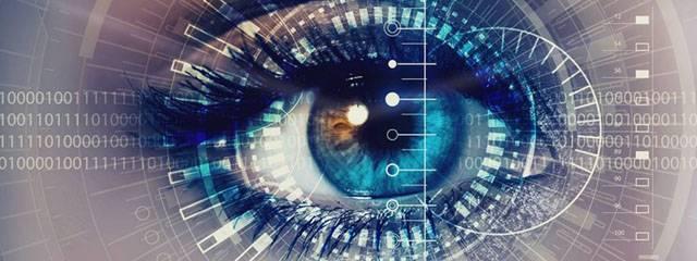 Eye exam, woman eye with advanced technology in Mentor, Ohio