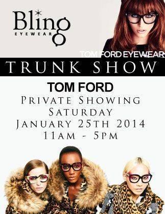 tom ford trunk show for eblast