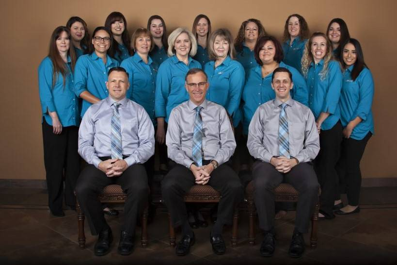 Office staff at Premier Eyecare in Bakersfield