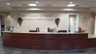 Premier Eyecare Optometric Center Front Desk