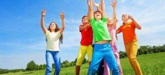 Kids Jumping and Playing, Optometrist, Olathe KS