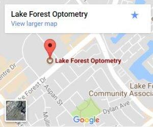 Lake forest map