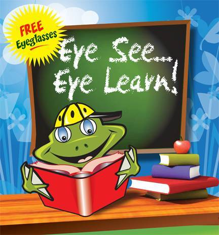 eye see eye learn graphic, eye doctor, Freelton, ON