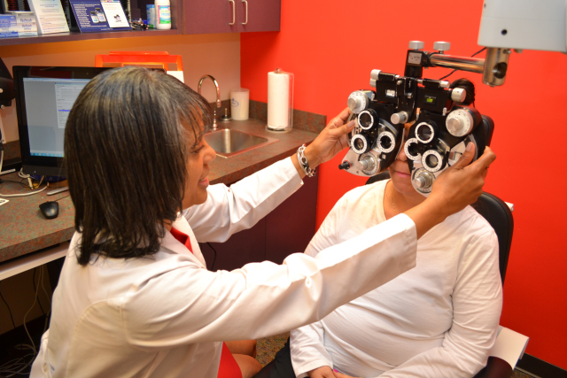 eye exam in Charlotte, NC
