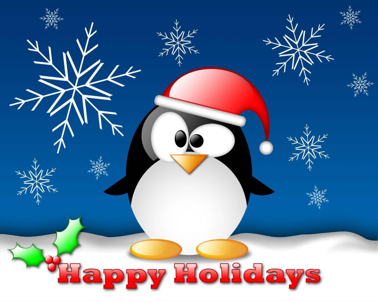Winter Season With Happy Holiday