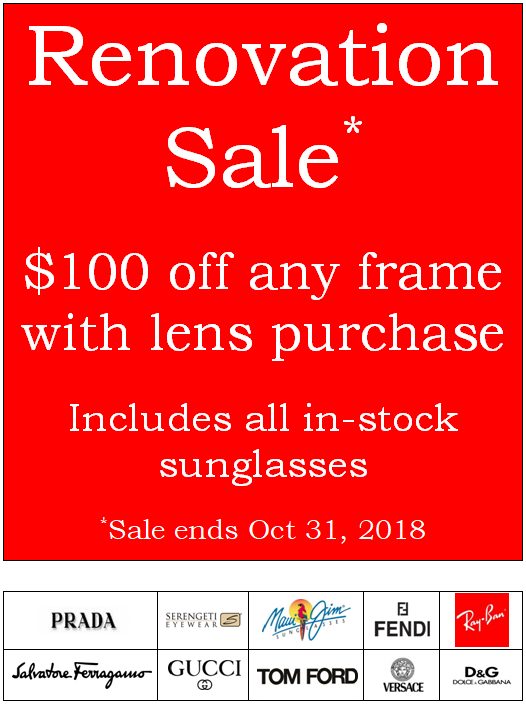 renovation sale - eye doctor - Toronto, ON