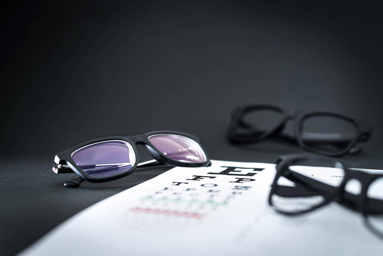 Eye glasses and Eye chart, Eye Care in Oromocto, NB