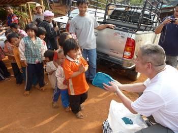 Our optometrist, Dr. Thomas L Lim, flew to Thailand