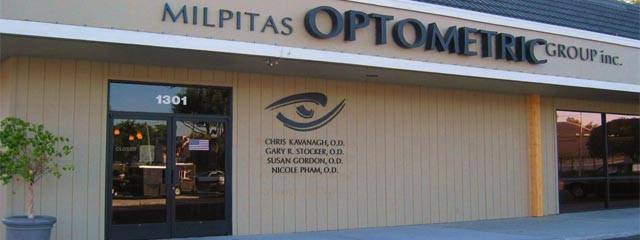 Optometrist, office in San Jose, CA
