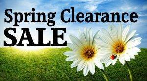 spring clearance header