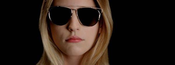 Optometrist, woman wearing Christian Dior sunglasses in Oak Brook, IL