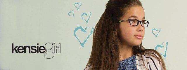 Optometrist, girl wearing Kensie Girl eyeglasses in Oak Brook, IL