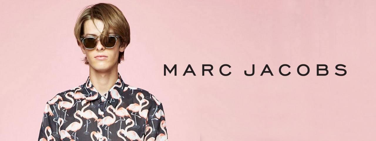 Eye doctor, man wearing Marc Jacobs sunglasses in Carrollton, TX