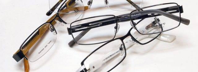 Eye doctor, multiple pairs of eyeglasses in Carrollton, TX