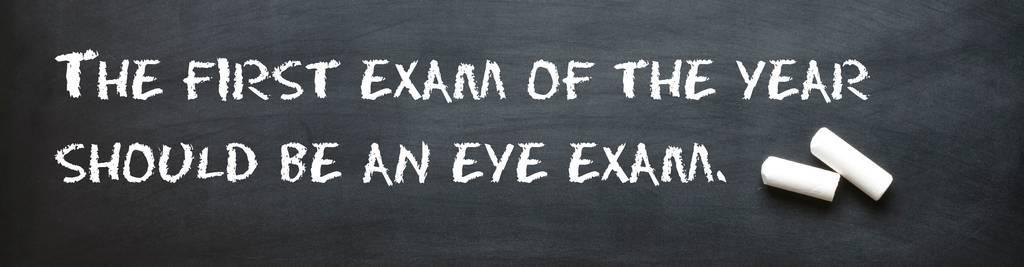 First Eye Exam