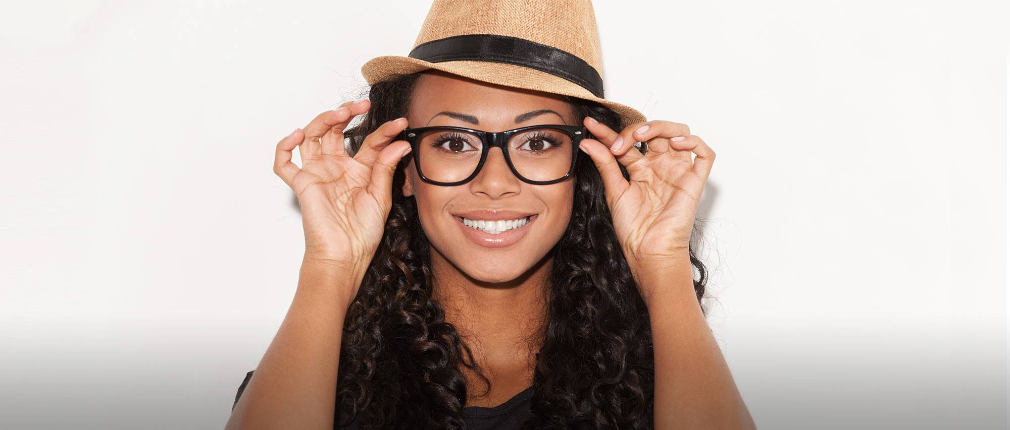 Glasses On Smiling Woman 2000×853 lo